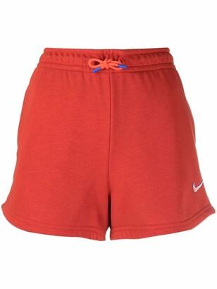Nike Logo Print Track Shorts