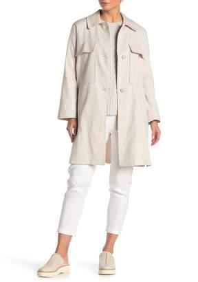 Jarbo Patch Pocket Linen Blend Jacket