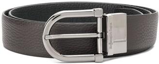 Ermenegildo Zegna Logo-Buckle Classic Belt