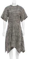 Isabel Marant Asymmetrical Woven Dress