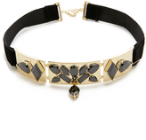 Noir Jagged Choker Necklace