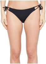 Echo Solid String Bikini Bottom Women's Swimwear