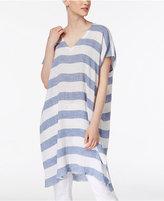 Eileen Fisher Organic Linen Caftan Tunic