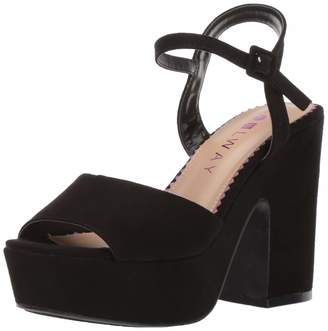 Coolway Women's CRYS Sandal Black 37 M US