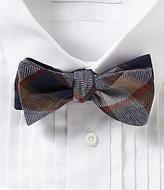 Daniel Cremieux Big Plaid Cotton Bow Tie