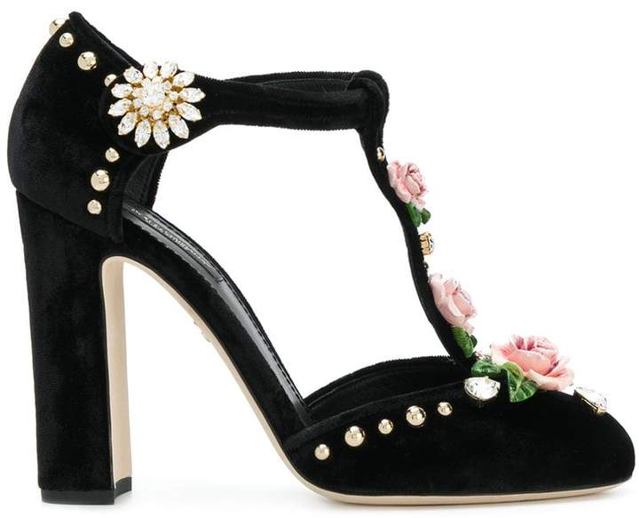 Dolce & Gabbana rose Mary Jane sandals