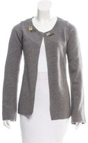 Marni Wool Embellished Cardigan