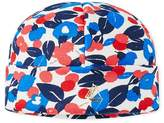Petit Bateau Baby girls cap in printed fleece