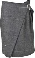 Aquilano Rimondi Buckled Skirt