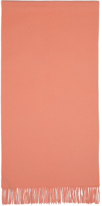 Acne Studios Pink Narrow New Canada Scarf