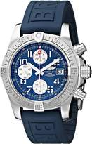 Breitling Men's BTA1338111-C870BLPD3 BMMOA10098 Stainless Steel Watch with Rubber Band