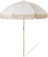 Sunday Supply Co Dunes Beach Umbrella Natural