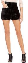 GB Velvet Shorts