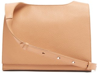 Aesther Ekme Messenger Grained-leather Cross-body Bag - Nude