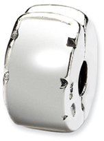 Reflections Sterling Silver Reflection Beads Hinged Clip Bead Charm