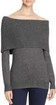 MICHAEL Michael Kors Ribbed Off-The-Shoulder Sweater - 100% Bloomingdale's Exclusive