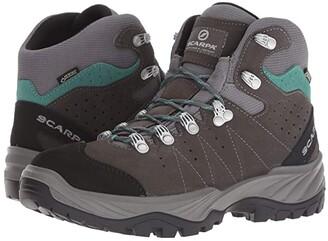 Scarpa Mistral GTX (Smoke/Lagoon) Women's Shoes