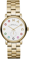 Marc by Marc Jacobs Women's Baker Dexter Gold-Tone Stainless Steel Bracelet Watch 36mm MBM3440