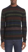 Paul Smith Men's Stripe Merino Wool & Alpaca Sweater