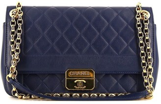 Chanel Pre Owned 2013 Diamond-Quilted Shoulder Bag