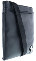 Versace Ee1yobb41 E899 Black Signature Mens Messenger Bag.
