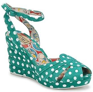 Miss L Fire Miss L'Fire TEASE women's Sandals in Green