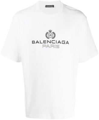 Balenciaga logo print T-shirt