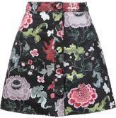 ADAM by Adam Lippes A-line mini skirt - women - Polyester - 2