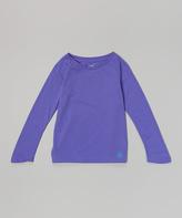 Soffe Neon Purple No Sweat Tee - Girls