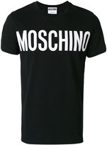 Moschino classic logo t-shirt - men - Cotton - 48