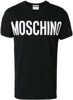 Moschino classic logo t-shirt - men - Cotton - 50