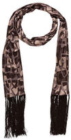 Celine Abstract Print Silk Scarf w/ Tags