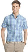 Izod Big & Tall Saltwater Plaid Woven Button-Down Shirt