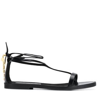 Stella McCartney wrap around flat sandals