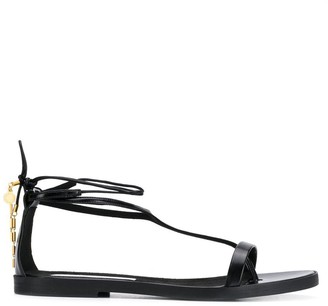 Stella McCartney Wrap Around Flat Sandals