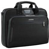 Briggs & Riley Men's 'Medium Slim' Ballistic Nylon Briefcase - Black