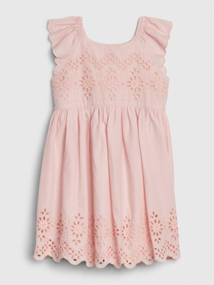 Gap Toddler Eyelet Flutter Dress