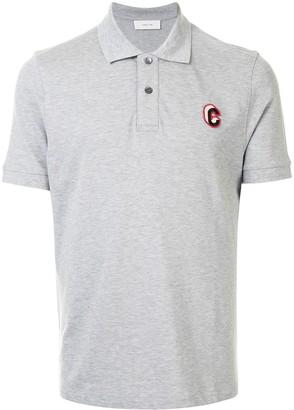 Cerruti Short Sleeve Embroidered Logo Polo Shirt