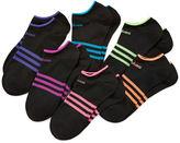 adidas 6-pk. Superlite Low-Cut Socks - Girls