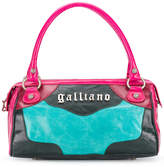 John Galliano colour block tote