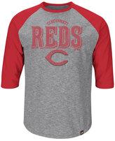 Majestic Men's Cincinnati Reds Fast Win Raglan T-Shirt
