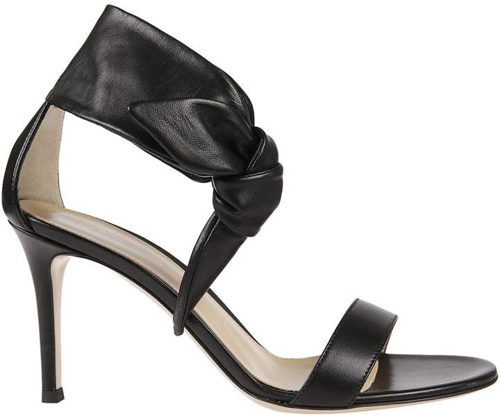 Gianvito Rossi Wide Strap Sandals