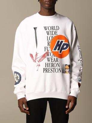 Heron Preston Sweatshirt With Multi Prints And Writings