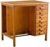 Rejuvenation Mid-Century Maple Desk w/ Drawers