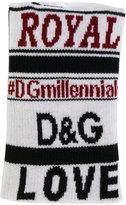 Dolce & Gabbana knitted wristband