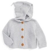 Nordstrom Infant Boy's Organic Cotton Hooded Cardigan