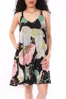 Entro Colorful Floral Dress