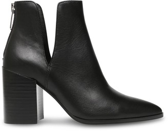 Steve Madden Darryn Black Leather