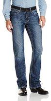 Stetson Men's Rock Fit Frayed X Stitched Jeans - 11-004-1014-3003 Bu