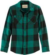 Urban Pipeline Boys 8-20 Urban Pipeline® Ultimate Regular-Fit 2-Pocket Flannel Button-Down Shirt